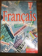 Français 2de professionelle et Terminale BEP - Hachette - 1993 - Manuel scolaire