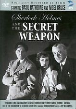 Sherlock Holmes and the Secret Weapon (DVD, 2003, Digitally Restored)