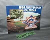 New York Mets Baseball 1962-1986 25th Anniversary Calendar