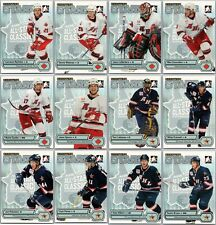 2005-06 ITG HEROES AND PROSPECTS SHOOTING STARS COMPLETE 12 Card Insert Set Lot