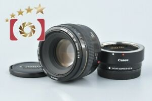 Canon EF 50mm 1:1.4 Mount Adapter EF-EOS M Autofocus Camera Lens Made in Japan