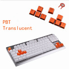 9pcs/set PBT Keys Backlit Translucent Keycaps For Cherry MX Mechanical Keyboard