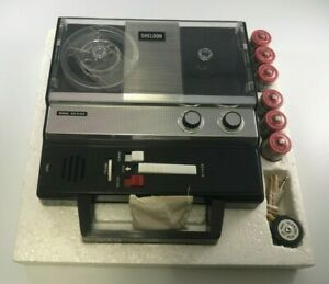 SHELDON SIX-O-SIX, 4 TRACK, 6 TRANSISTOR MICROPHONE OPERATED TAPE RECORDER