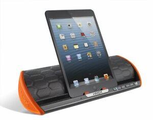 Genuine HMDX Stream Wireless Stereo Bluetooth Speaker Big Sound Black Orange
