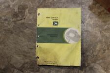 John Deere 4640 and 4840 Tractors Operators Manual