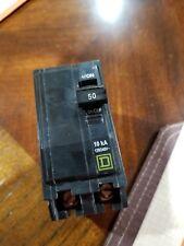 2 POLE SQUARE D QO250 120//240V X13313-WH06*K CIRCUIT BREAKER 50 AMP