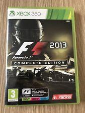F1 2013 FORMULA 1 2013 COMPLETE EDITION XBOX 360 FRANÇAIS COMPLET RARE VF FR