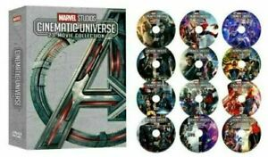 ALL 23 MARVEL STUDIOS CINEMATIC UNIVERSE MOVIE COLLECTION 12 DVD Avengers New