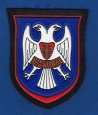 SERB ARMY OF KRAJINA, SERB REBELS IN CROATIA, SLEEVE PATCH 1990 !