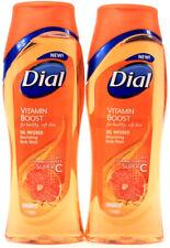 2 Dial Vitamin Boost Oil Infused Nourishing Body Wash Super C Vitamin Complex