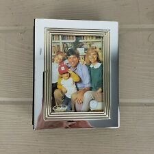 Godinger Silver Set 2 Silverplated Photo Albums Nwt