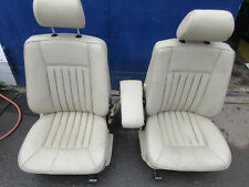 Lederausstattung creme beige, Längspfeifen, Mercedes-Benz W124 W 124 T-Modell