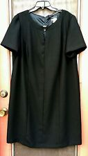POSITIVE ATTITUDE SIZE 18 BLACK DRESS NWOT