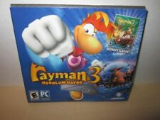 Rayman 3 Hoodlum Havoc & Bonus Rayman 2 The Great Escape Pc Game *New/Sealed*