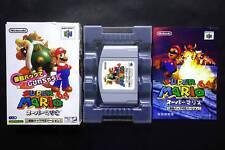 SUPER MARIO 64 Nintendo64 N64 JAPAN USED/Good.Condition