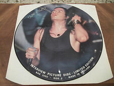 THE CULT~INTERVIEW PICTURE DISC~UK PRESS BAK 2050~NO COVER~GOOD CONDITION