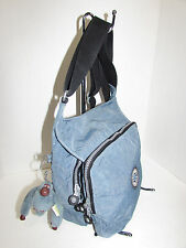 KIPLING Blue Bi-Fold Nylon Crossbody Shoulder Bag