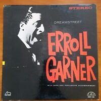 Vintage Vinyl 33rpm LP Record Album: Erroll Garner, Dreamstreet