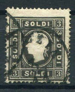 D194197 Austria FU Sc. 7 3s black Emperor Franz Josef