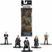 5-Pack Nano Metalfigs Harry Potter Metal Die Cast Mini Figures Miniature Toy Col