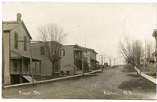 RPPC NY Altmar Pierce Undertaking Furniture Main Street 1910 (Myer) Oswego Co