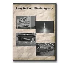 Army Ballistic Missile Agency Big Picture Documentary Redstone Arsenal DVD A823