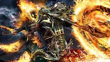 Ghost Rider Poster Length :800 mm Height: 500 mm SKU: 4127