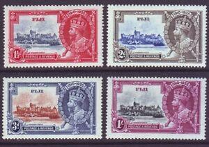 Fiji 1935 SC 110-113 MNH Set Silver Jubilee