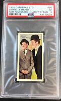 1935 Carreras Ltd. Famous Film Stars #96 Laurel & Hardy Hardy Standing PSA 5 EX