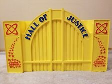 DC Super Powers HALL OF JUSTICE 100% Complete C9 Vintage Kenner 1984