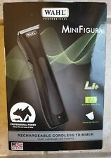 New listing Wahl Mini Figura Rechargeable Cordless Pet Trimmer * Black 9868 * New Dog Horse
