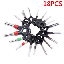 18Pcs Wire Terminal Removal Tool Car Electrical Wiring Crimp Connector Pin Kit