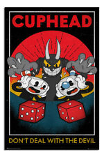 Cuphead Craps Dont Deal With The Devil Poster New