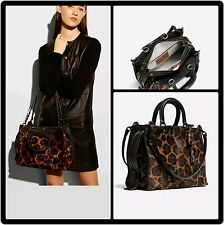 COACH 1941 Rogue Haircalf Wild Beast Runway Tote 54554 SOLD OUT $1400 *Stunning*