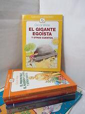 EL GIGANTE EGOISTA Y OTROS CUENTOS Graded Spanish Literature Libros en Espanol