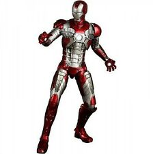 "Movie Masterpiece 1/6 Scale Fully Poseable ""Iron Man 2"" Mark 5 JAPAN F/S S2857"