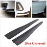 2x Universal Car Carbon Fiber Type Anti-rub Strip Bumper Body Corner Protector