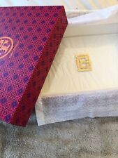 Tory Burch Acrylic And Brass Tray, New In Box