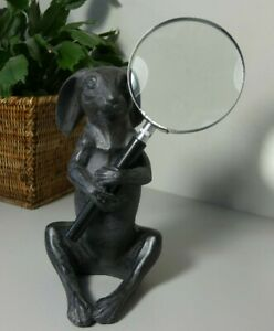 Hare Magnifying Glass - Ornament