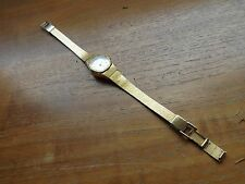 vintage old wrist watch accurist gold tone ladies (3)