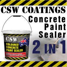 Concrete Paint Sealer 20L - Coloured Concrete Sealer 2 in 1