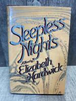 Sleepless Nights — Elizabeth Hardwick — First Edition - Dust jacket in Sleeve