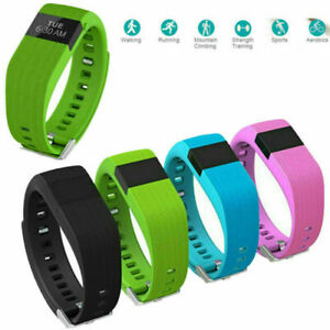 Smart Wristband Wearable Heart Rate Activity Tracker Bracelet For Samsung iPhone
