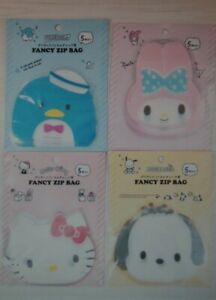 Daiso sanrio fancy zip bag