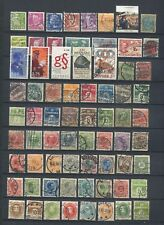 Denmark : Large lot with older stamps - used