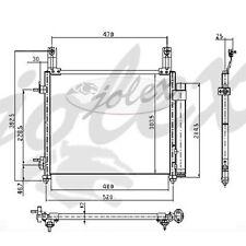 Klimakühler Kondensator Daewoo Chevrolet Matiz 05-> NEU
