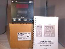 West 4200 1/4 DIN PID Temperature Controller N4200 Z2100 00 R9 REMOTE SETPOINT