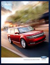 Prospekt brochure 2013 Ford Flex (USA)