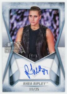 Rhea Ripley 2020 Topps WWE Transcendent VIP Autograph Card RR1 /25