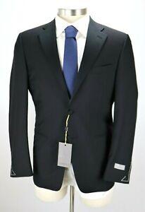 $2195 CANALI 1934 Wool Mohair Tuxedo Suit 36 R Modern Fit Black Travel 46 EU NWT